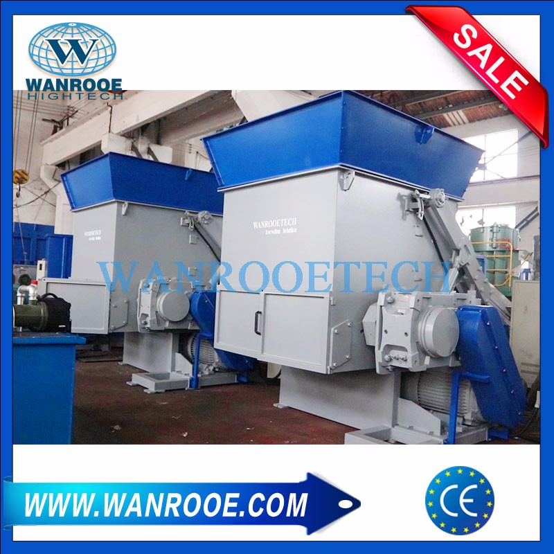 Plastic Pallet Shredder Waste Plastic Tray Shredder Machine