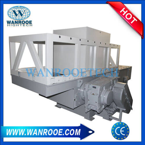 Waste Lumps PVC Flooring Ceiling Plastic Profile Shredder Machine