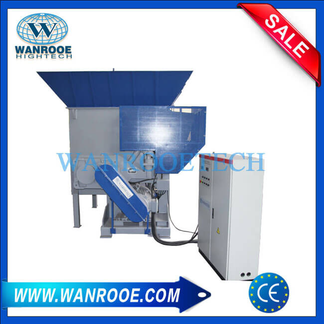 Swing Arm Vertical Drum Waste Wood Shredder