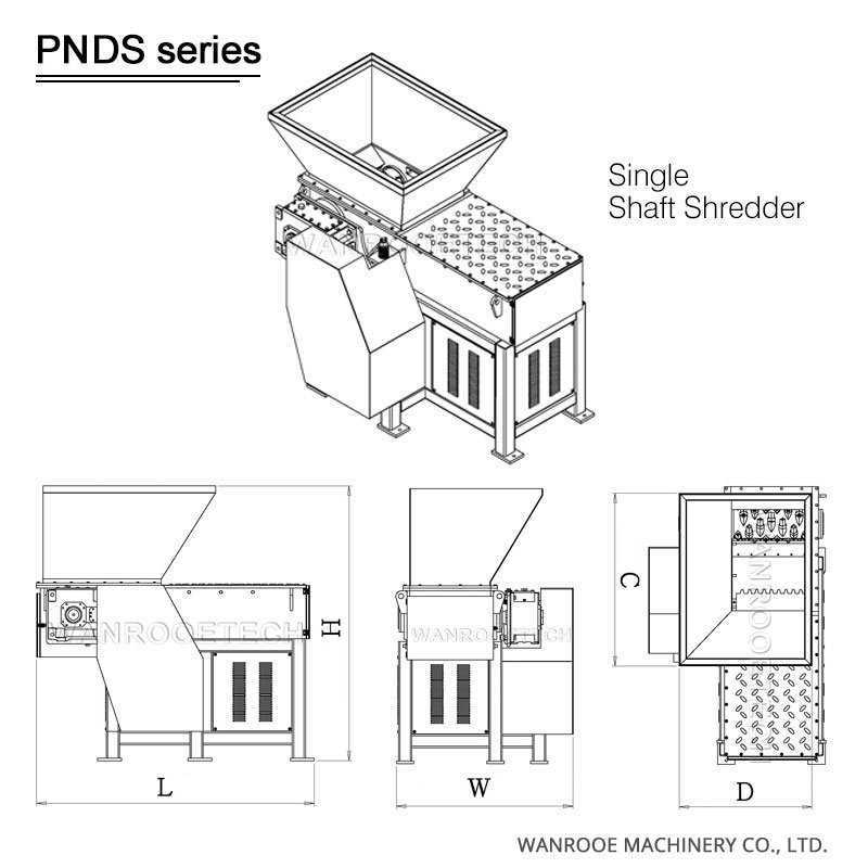Waste Wood Shredder, MDF Plywood board shredder, Wood Pallet Shredder, Wood shredder machine, wood shredder machine price