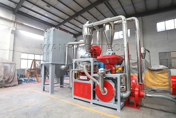 PNMP aluminum plastic pulverizer machine