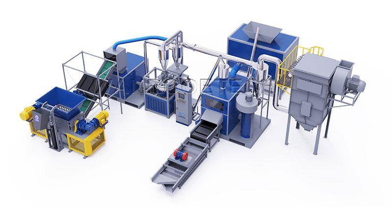 Waste PCB Recycling Machine, PCB Recycling Plant, PCB Recycling Machine, Printed Circuit Board Recycling Machine