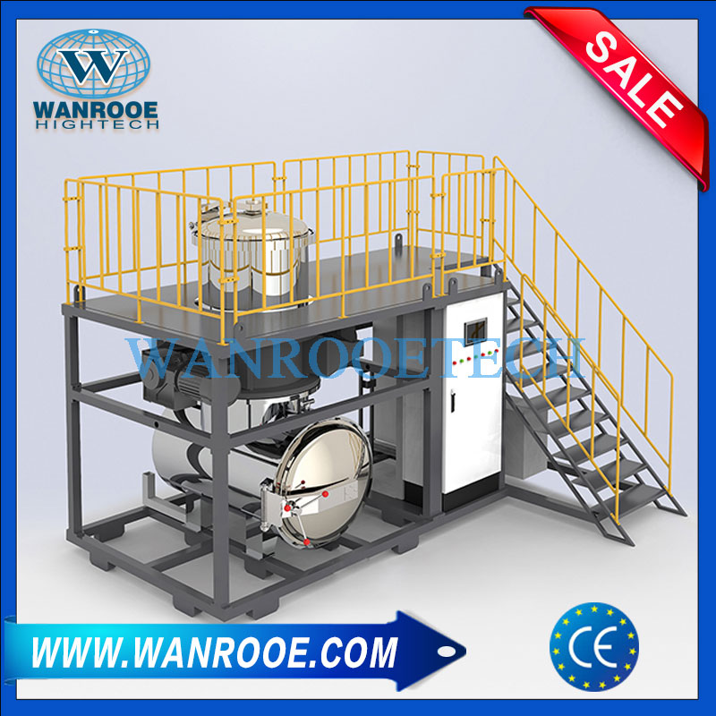 Vertical Medical waste crushing autoclave