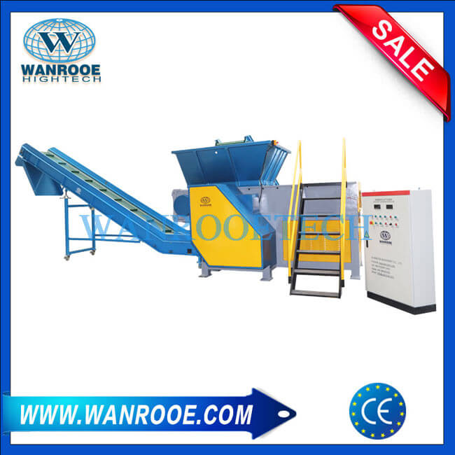 Plastic Bag PP Woven Bag Jumbo Bag Single Shaft Shredder