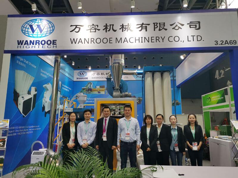 WANROOE MACHINE Elegant Demeanor IN CHINAPLAS 2019