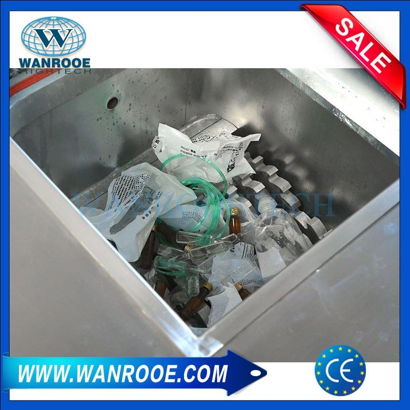 Medical Waste Shredder Machine With Sterilizer