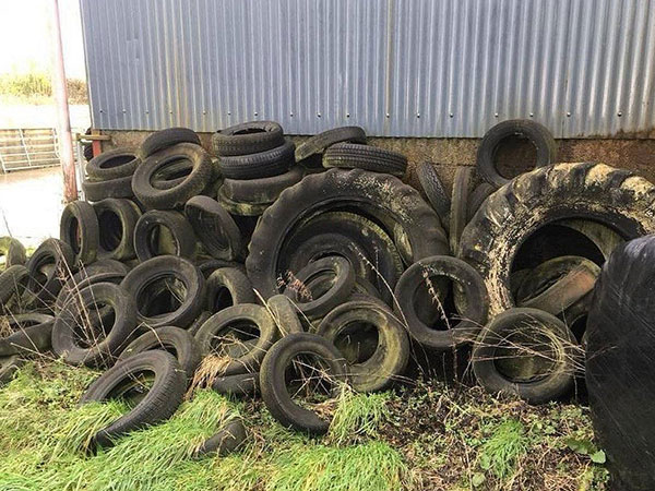 How to recycle waste tires?