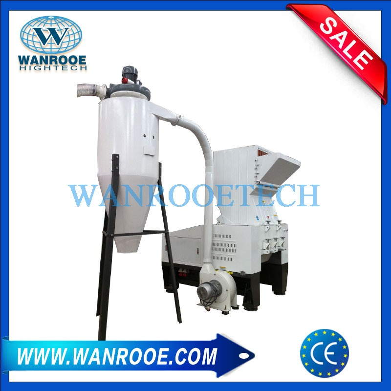 Disposable Diapers Sanitary Napkin Crusher Granulator Machine
