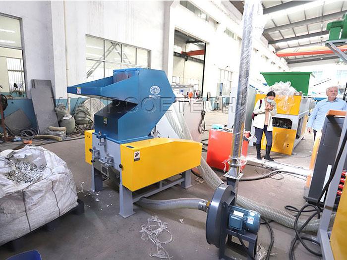 Industrial Waste Plastic Grinder Crusher