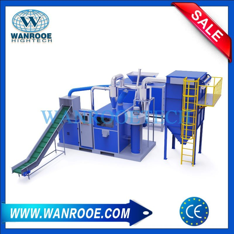 Copper Cable Crusher And Separator Copper Wire Recycling Machine