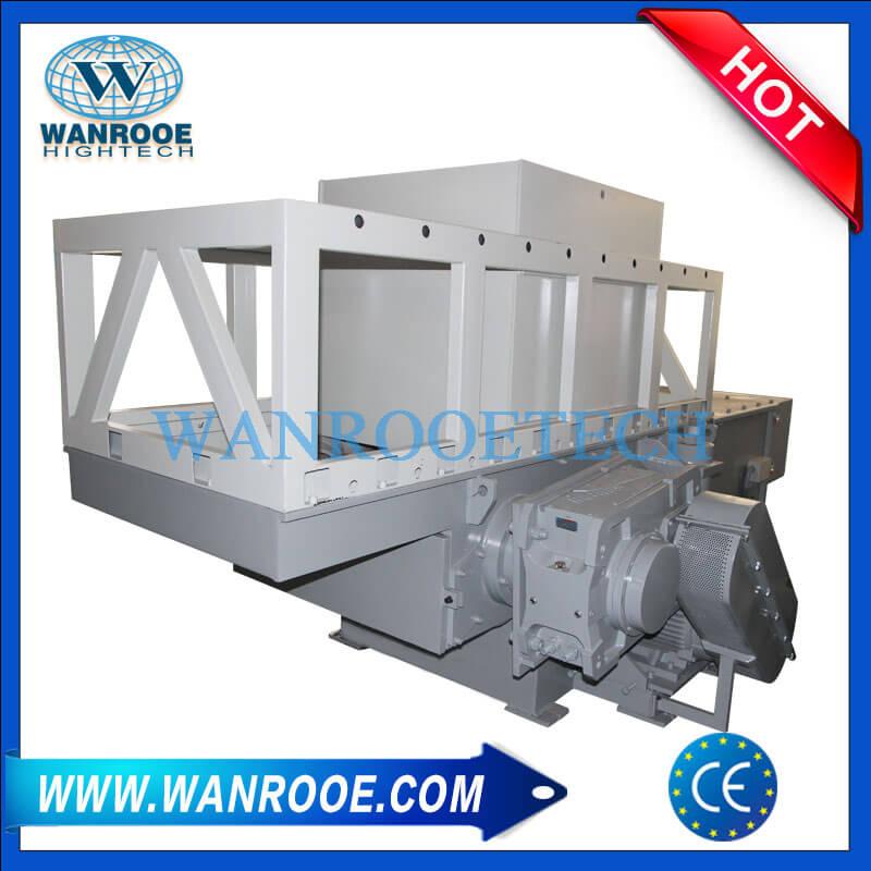 Déchiqueteur de tuyaux en plastique PVC HDPE