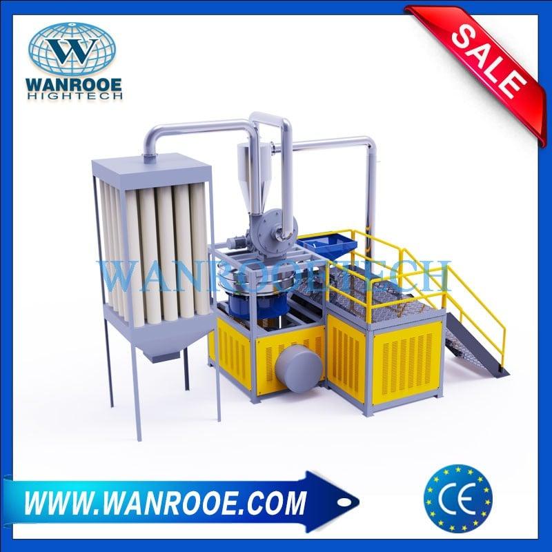 PVC PS PET PBT PA Plastic Pulverizer Machine