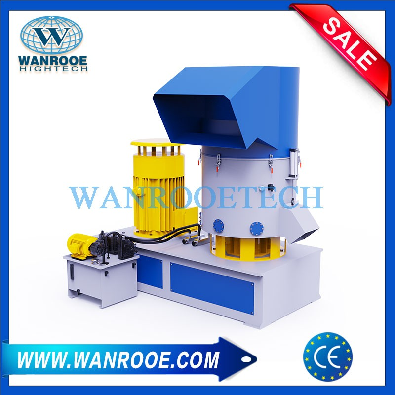 Industrial Plastic Compactor Densifier Agglomerator For Plastic Recycling