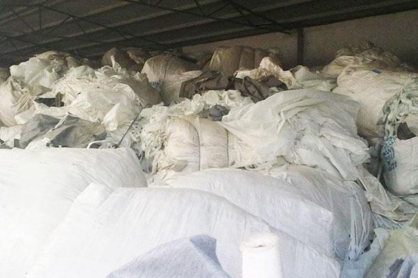 Waste Non Woven Fabrics Recycling Shredder Machine