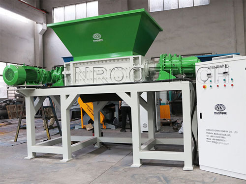 Factors affecting the output of plastic shredder machine