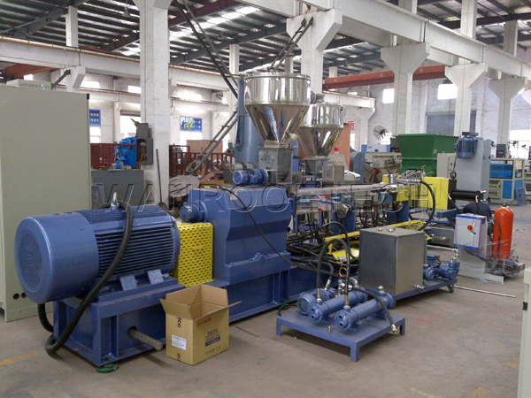 Modified Plastic Compounding Pelletizing Granulator Machine