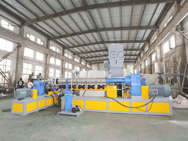 Waste Plastic Granulator Pelletizer Machine Motor Fault Treatment