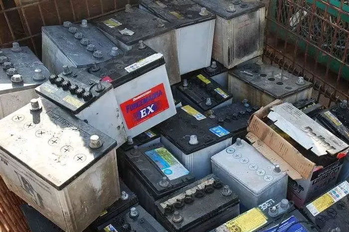 Waste Electric Car Battery Recycling Disposal