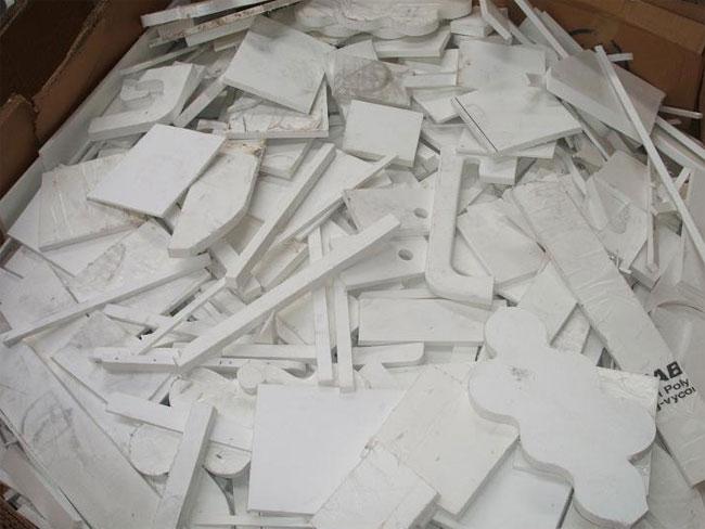 Scrap Plastic Plate Recycling Shredder Machine
