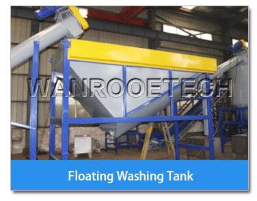 floating washing tank