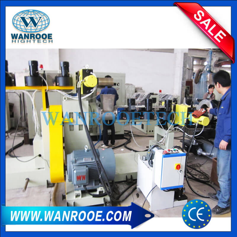 Second stage screw Extruder
