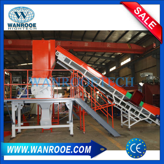 PP PE Agricultural Film Washing And Recycling Machine