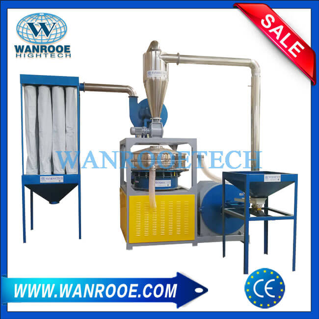 PVC Regrind Material Pulverizer Mill