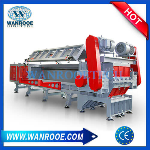 Big Diameter Large PP PE PVC LDPE HDPE Plastic Pipe Shredder