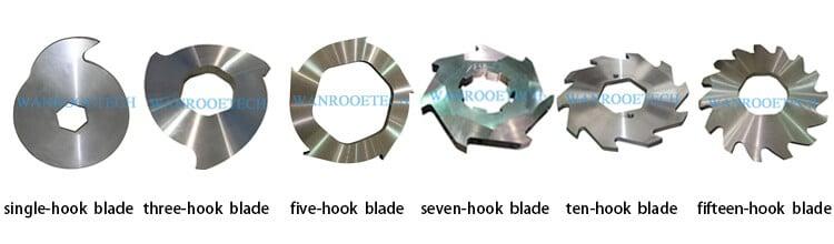 Double Shaft Shredder Blades