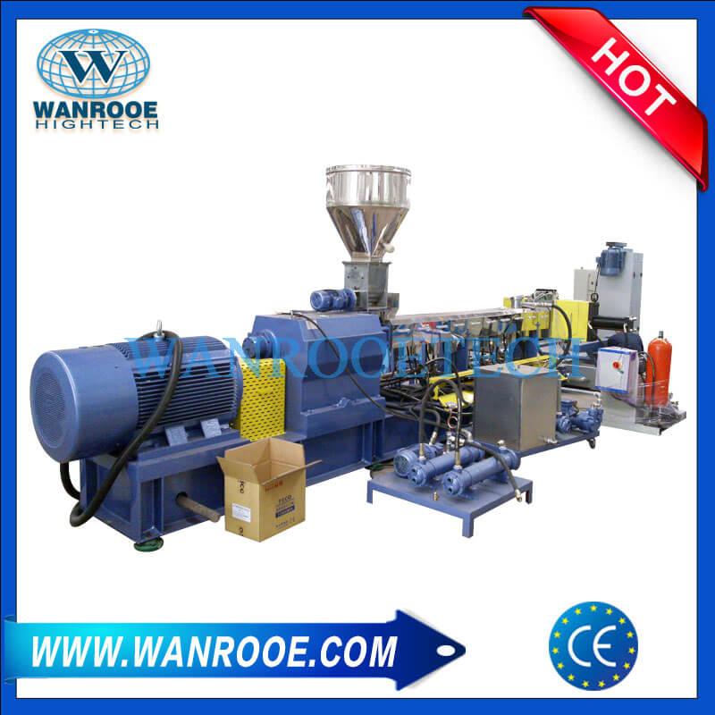 Plastic Masterbatch Pelletizing Granulating Machine