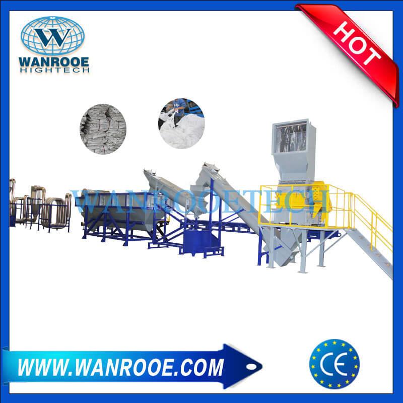 HDPE LDPE Plastic Film Washing Machine