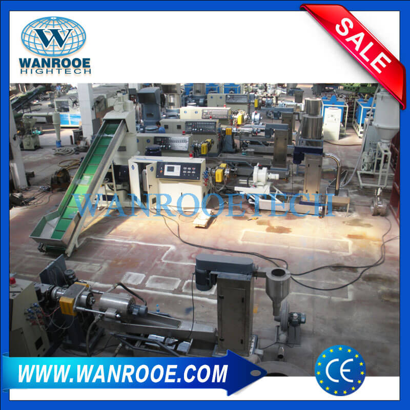 Single Stage Compactor Pelletizing Machine