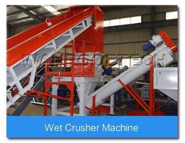 wet crusher machine