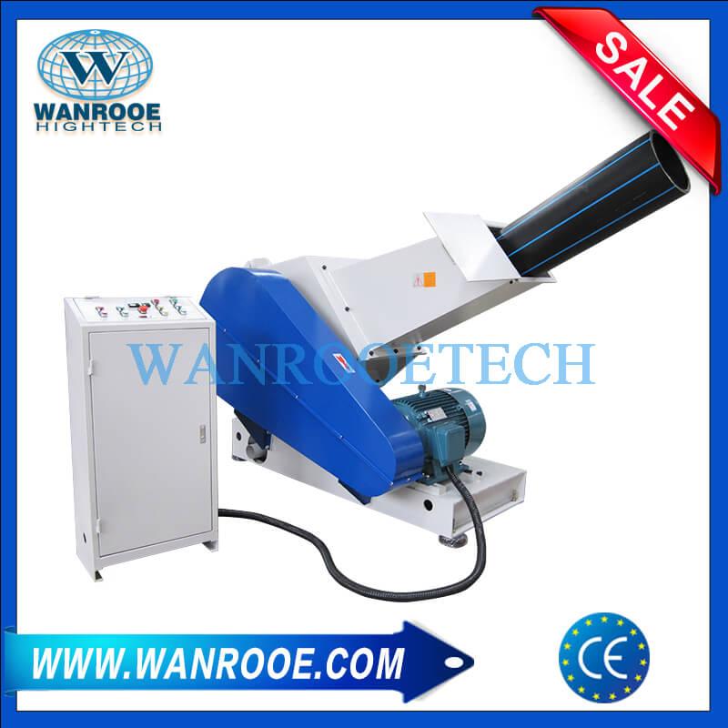 Machine de meulage en plastique de tube en plastique de HDPE pp de broyeur de broyeur de tuyau de PVC