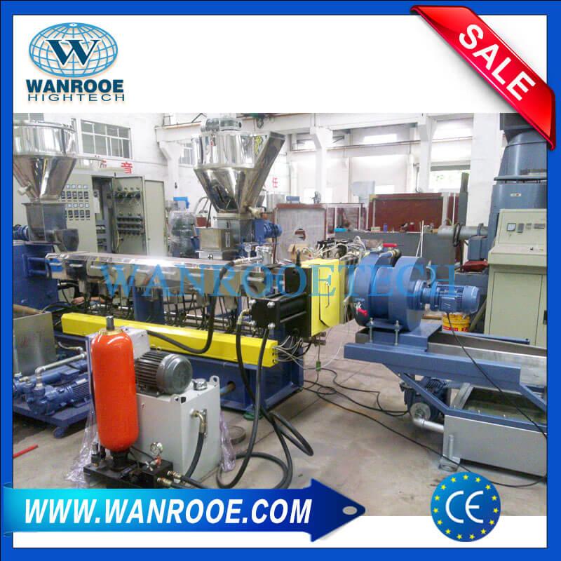 WPC (Wood Plastic) Pelletizing Granulating Machine