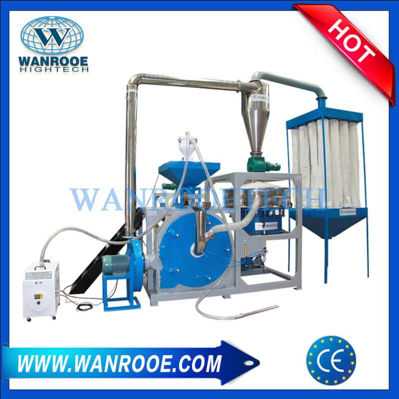 PE、LLDPE、LDPE、MDPE、HDPE磨粉机