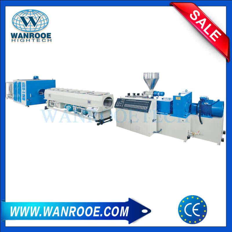 PVC Double Pipe Extrusion Machine