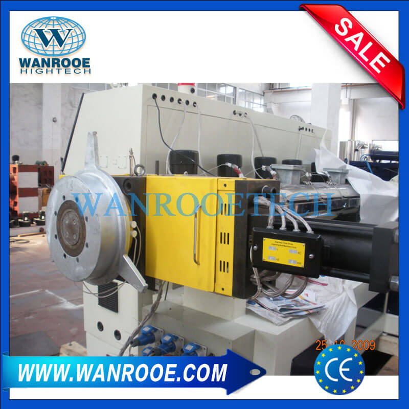 Water ring cutting system and dewater machine-1