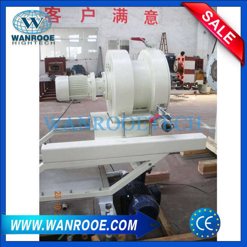 Water ring cutting system and dewater machine-2